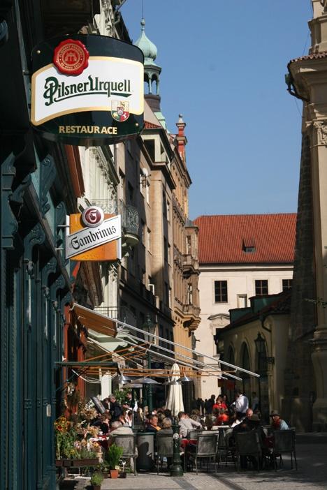 Billig öl i Prag