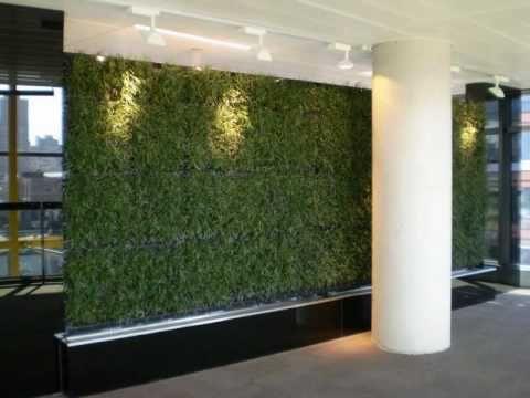 Elmich GreenWall Video Wall Pinterest Vertical