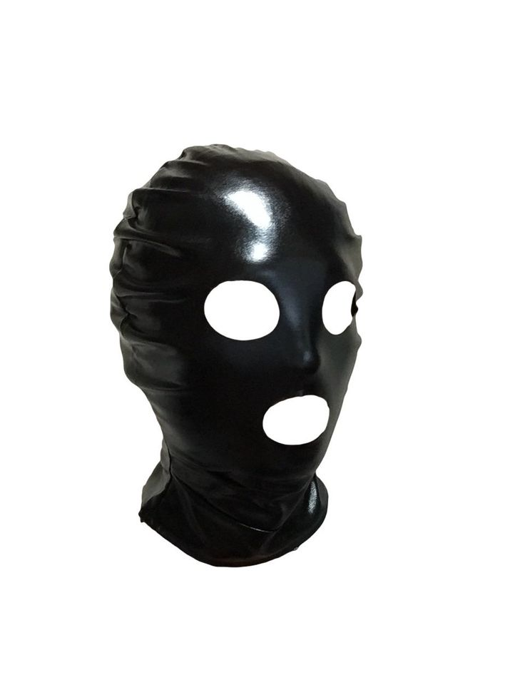 Amazon.co.jp | 目と口の開いたフェイスマスク ストレッチの効いたスパンデックス素材 後頭部チャック付き [並行輸入品] | ホビー 通販
