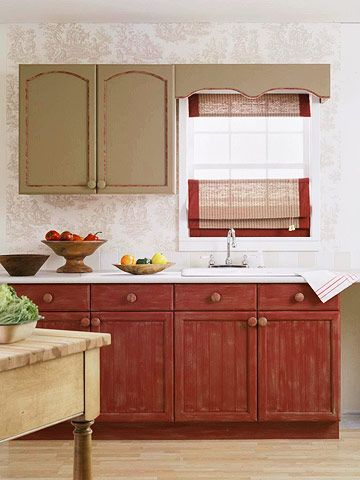17 Best Images About Two Toned Cabinets On Pinterest Shelves Base Cabinets