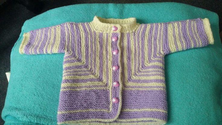 Baby knitting by Elizabeth Zimmermann