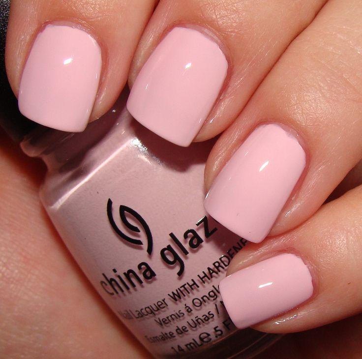 Best 25+ Light Pink Nail Polish Ideas On Pinterest