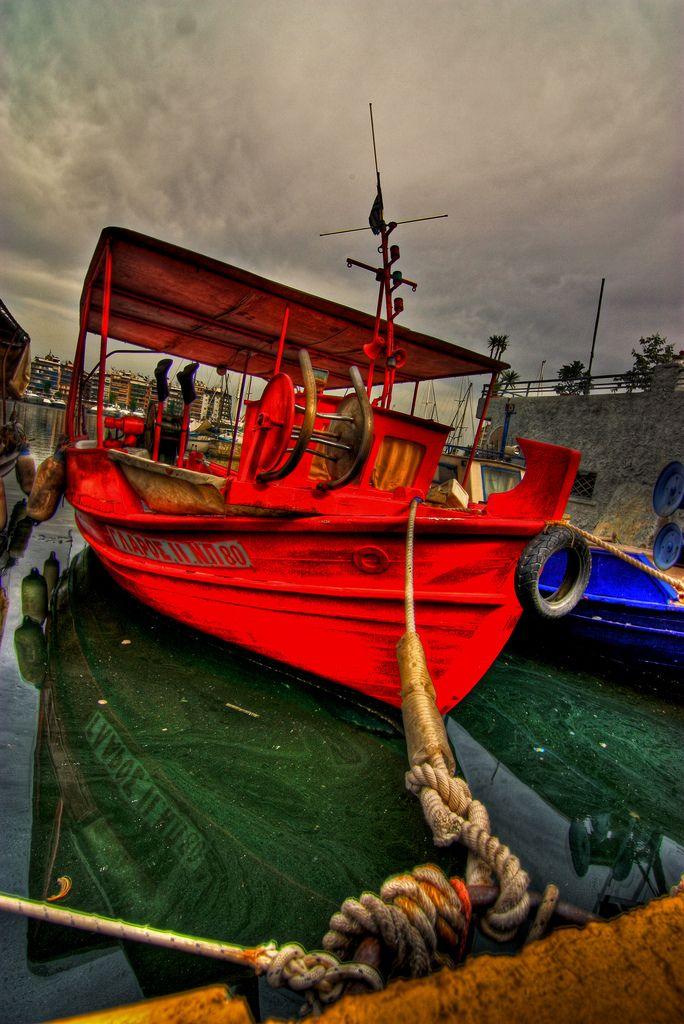 Fish Boat in Pasalimani Bay