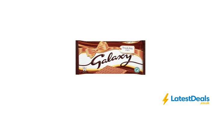 GALAXY® Smooth Milk Chocolate 390g, £2.25 at Iceland