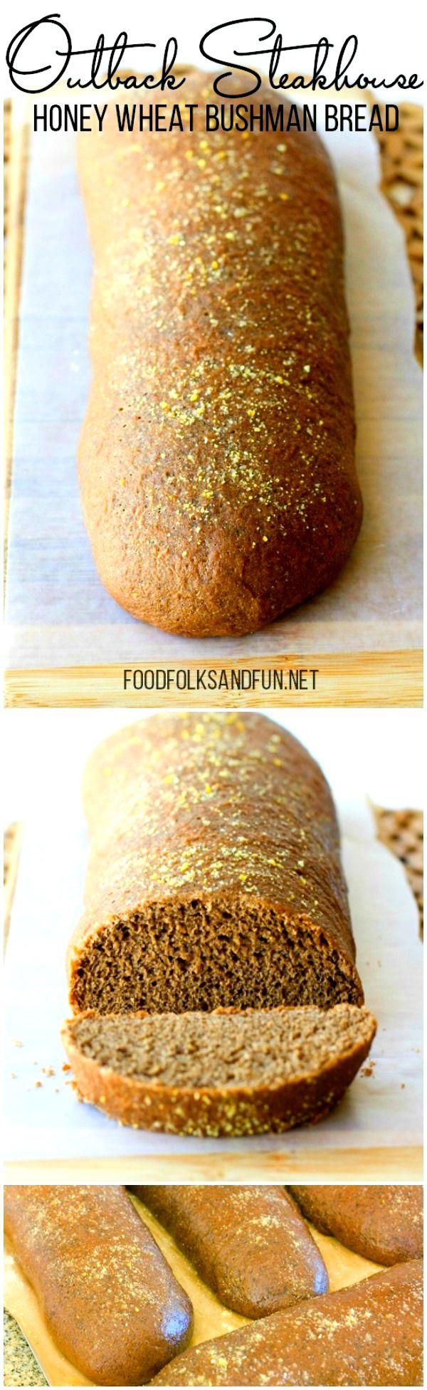 Honey Wheat Bushman Bread Recipe – an Outback Steakhouse Copycat! | Copycat Recipe | Outback Recipe | Brown Bread