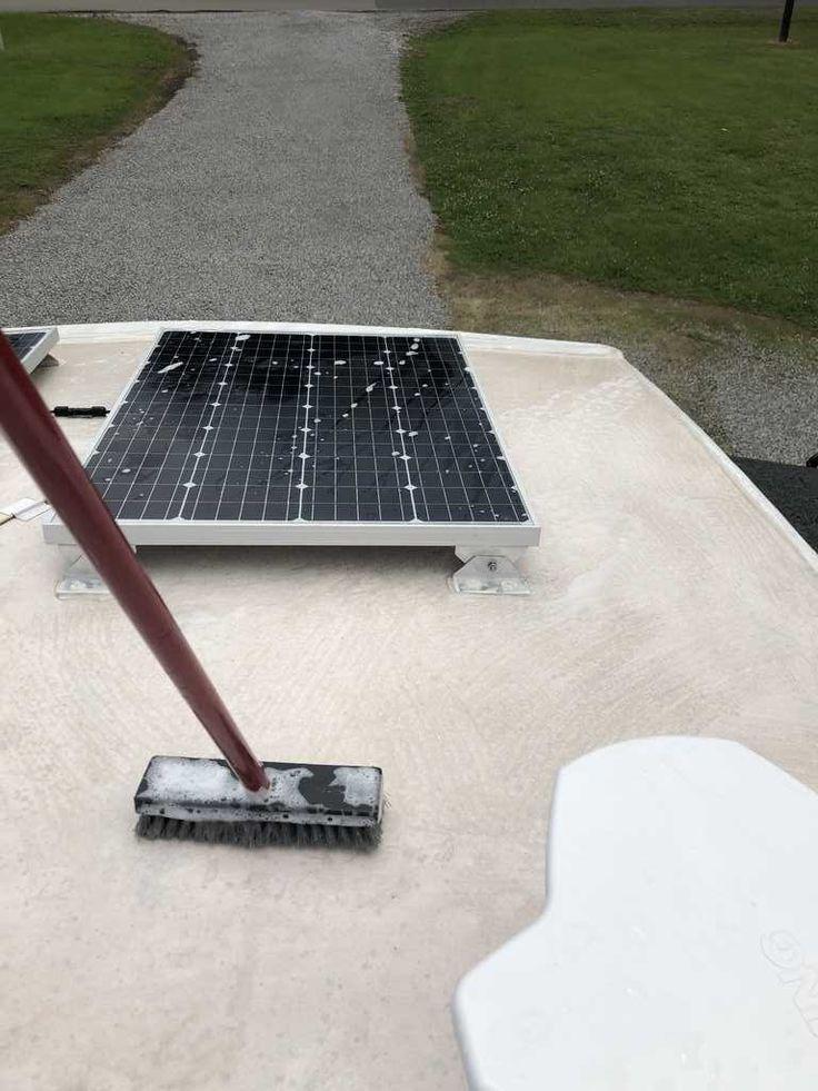 RV Roof Maintenance The Good, Bad and Sticky TREKKN