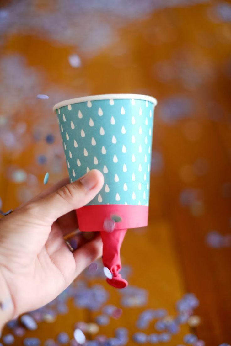 Lanzador de confeti