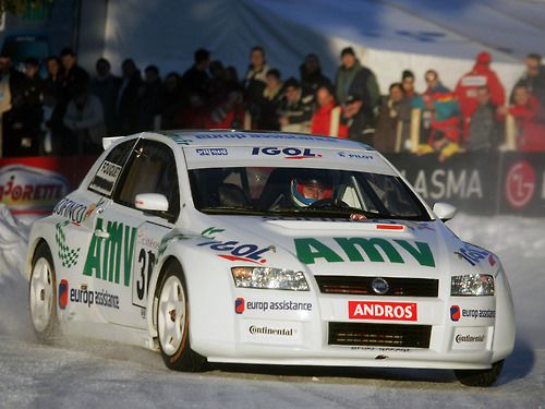FIAT Stilo ice race car