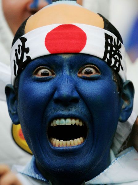 Football (Soccer) Crazy Funny World Cup Fans