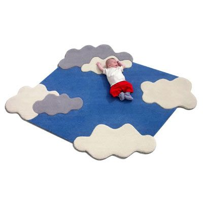 Piece of Sky Rug - could be a great quilt idea!