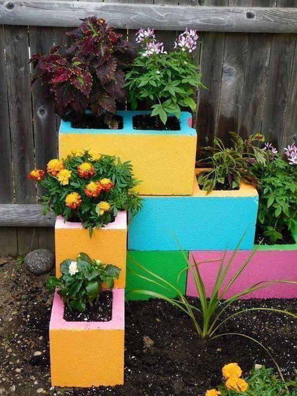 40 Amazingly Creative Diy Craft Ideas For The Most Wonderful Flower Garden My Desired Home Recycled Garden Small Yard Landscaping Diy Garden Decor