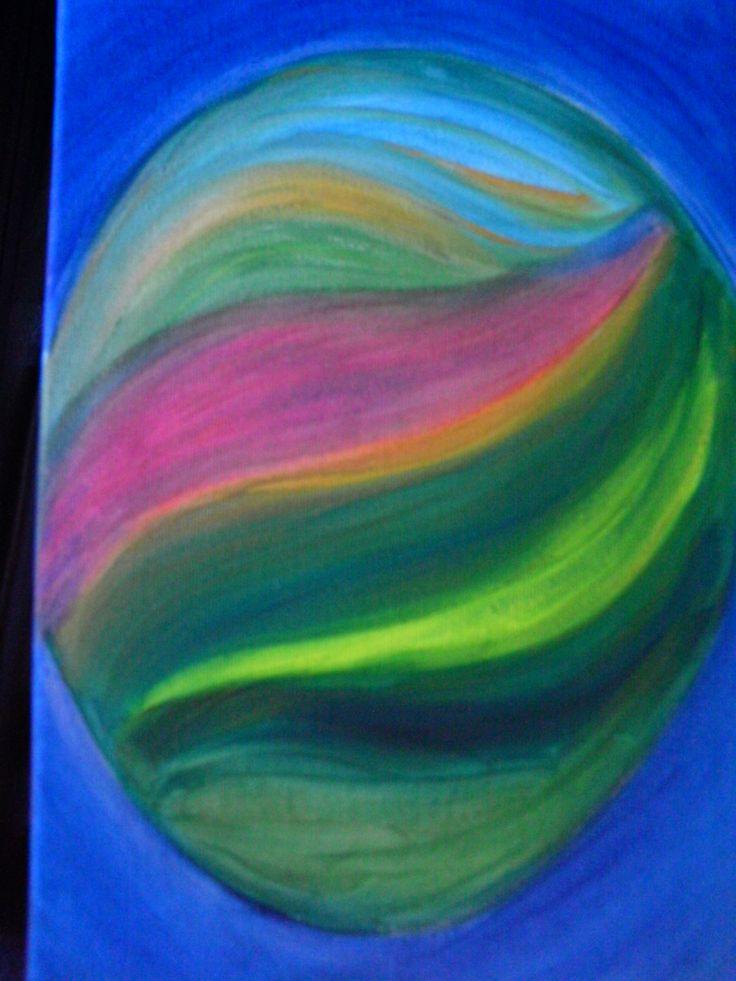 art blue - healing energy