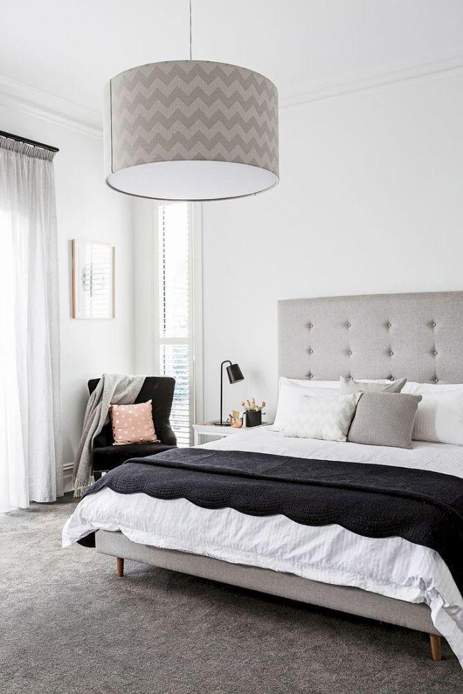 48 Impressive Classic Modern Bedroom Design Ideas Black Carpet Bedroom Grey Carpet Living Room Scandinavian Bedroom Decor