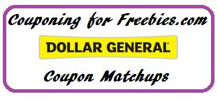 Dollar General Ad Coupon Matchups 8/4 - 8/10 - http://couponingforfreebies.com/dollar-general-ad-coupon-matchups-84-810/