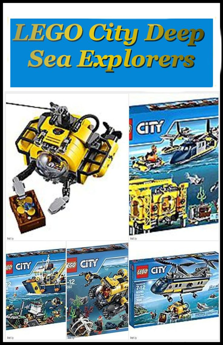 There are a number of kits in the LEGO City Deep Sea Explorers series. They include the following: