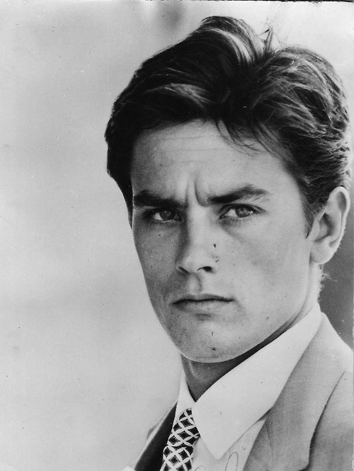 Alain Delon, don't know the name but this picture is hot!!!!