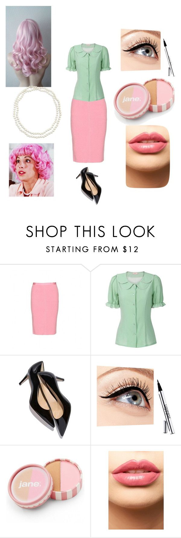 """Frenchy (Grease)"" by broadway-beauty ❤ liked on Polyvore featuring Nina Ricci, Miss Patina, Luminess Air, jane, LASplash, Chico's, women's clothing, women, female and woman"