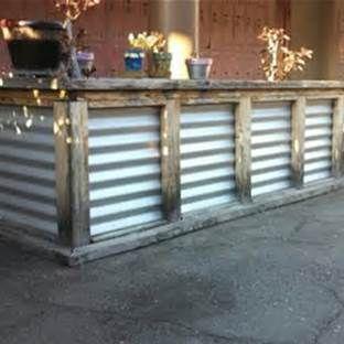 Would make a cool outside bar