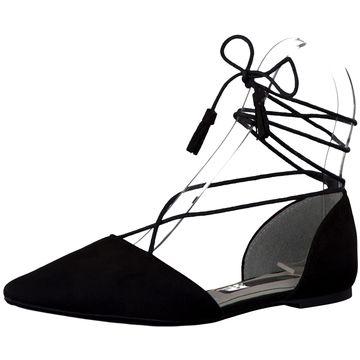 Diese Tamaris Ballerinas in klassischem Schwarz findet Ihr auf schuhe.de