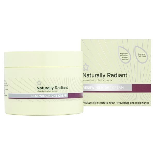 Superdrug Naturally Radiant Renewing Night Cream 75ml Superdrug