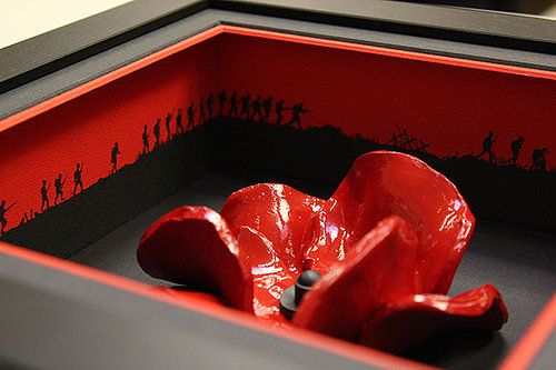 frame for the tower of london ceramic poppy - Google Search