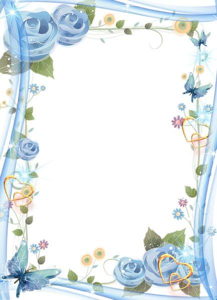 1000+ images about Molduras on Pinterest | Floral border, Clip art and ...