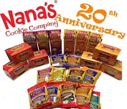 Delicious Gluten Free Cookies Nanas Cookie Company. Most are dairy, soy, wheat, egg free and so good!