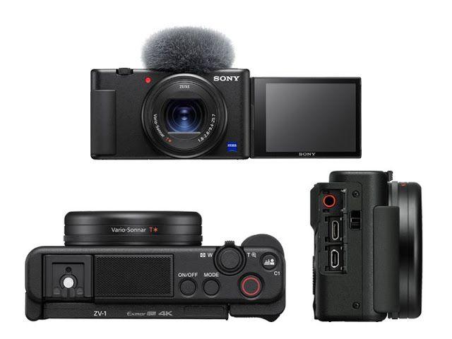 سوني تعلن عن كاميرا Zv 1 لدعم مدوني الفيديو بسعر 799 دولار أعلنت شركة سوني رسميا اليوم عن كاميرة Zv 1 Best Vlogging Camera Vlogging Camera Sony Digital Camera