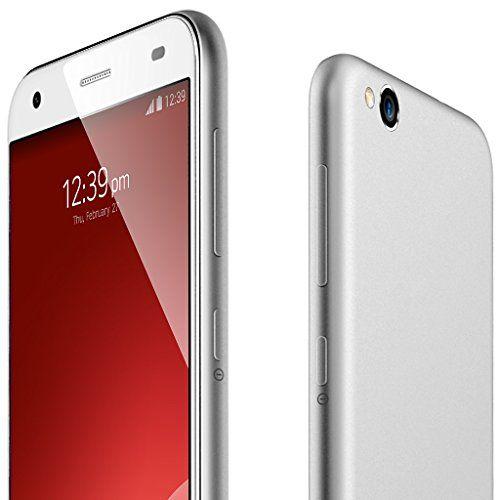 2015 Último ZTE Blade S6 5 '' IPS Android 5.0 OS Qualcomm MSM8939 Lollipop desbloqueado Smartphone 4G - 1280 x 720 HD de pantalla Gesto Octa Core 1.5GHz teléfono móvil Dual SIM Dual Standby Nano 2GB RAM 16GB ROM 13.0MP + 5.0MP digital GPS WIFI Aire Celular phablet para Naranja O2 Vodafone 3 red de T-Mobile Virgin Mobile Tesco Mobile red 2G y 3G y tarjeta SIM 4G - Plata