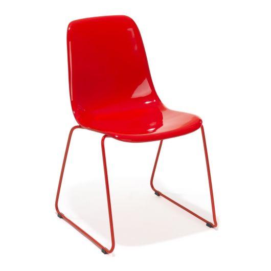 Colore Matstol - Röd