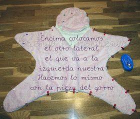Hace ya unos días, en el grupo Coser y Cantar de Facebook pedían el patrón de esta estrellita para bebé. Es una mantita muy suave y...