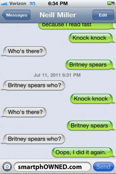 Britney Spears - Knock knock!