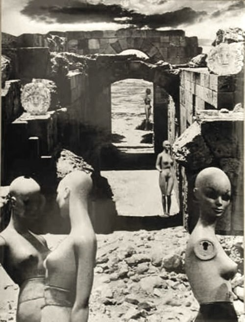 Mannequins, a Photocollage by Zofia Rydet