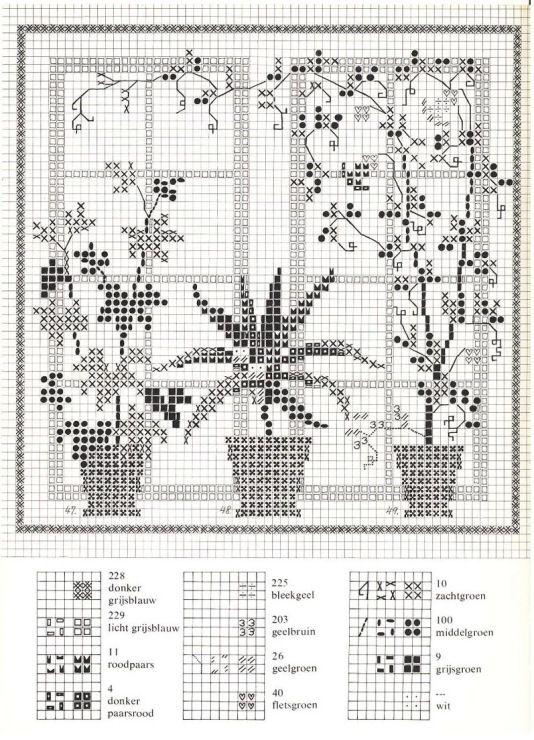 Gallery.ru / Фото #41 - Cross Stitch Pattern in Color - Mosca