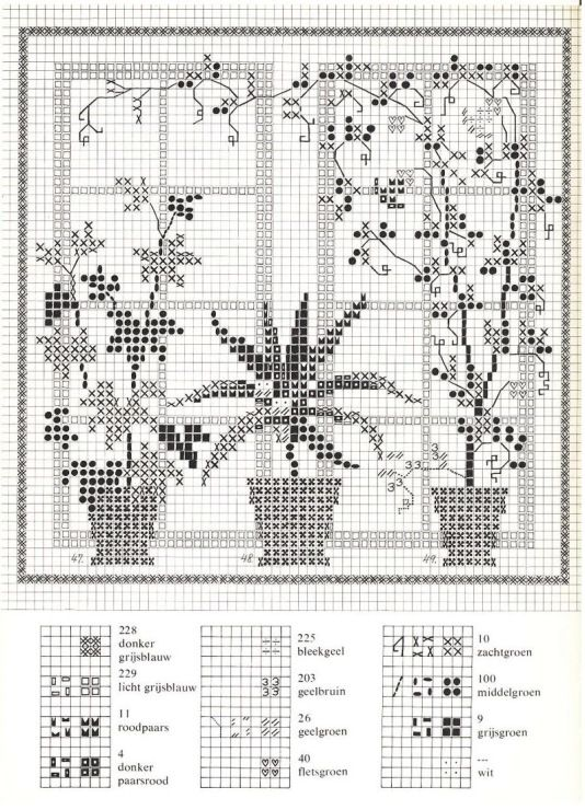 Gallery.ru / Фото #36 - Cross Stitch Pattern in Color - Mosca