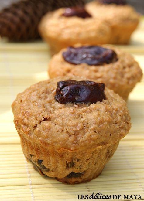 Si vous aimez les dattes, voici une excellente recette à essayer! Ces muffins sont bien moelleux et bien nourrissants. J'ai remplacé le l...