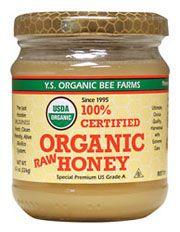 100% Certified Organic Raw Honey