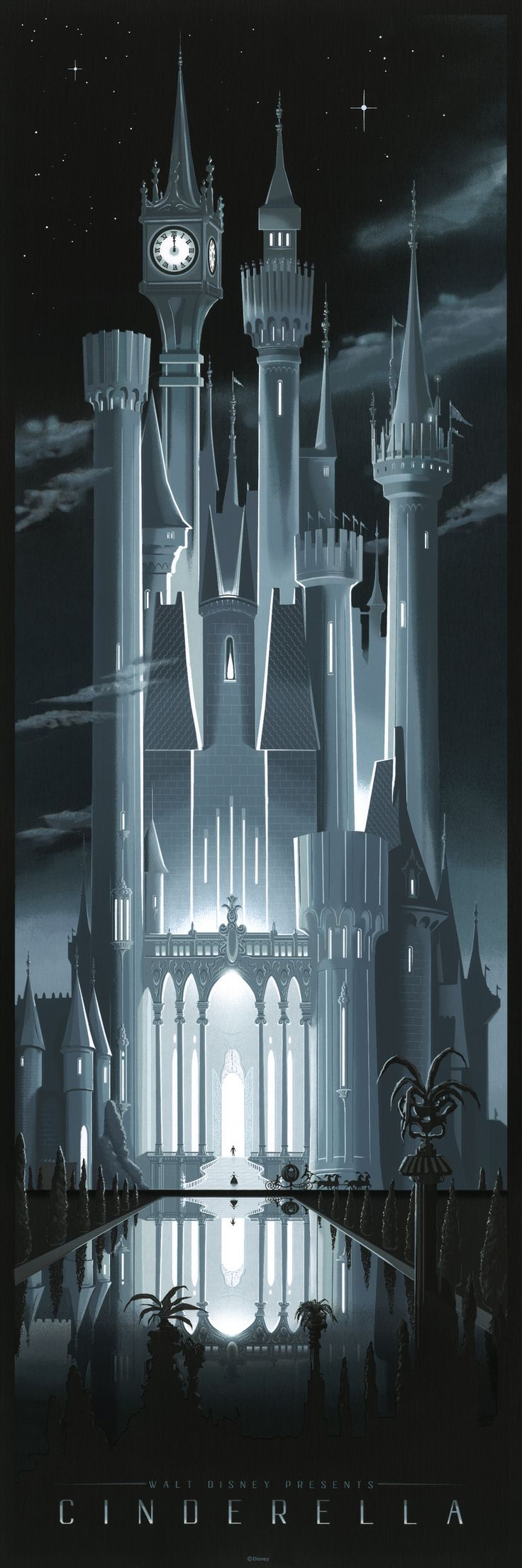 Exclusive: Artist JC Richard On His Amazing Cinderella Castle Print | Disney Insider | Articles