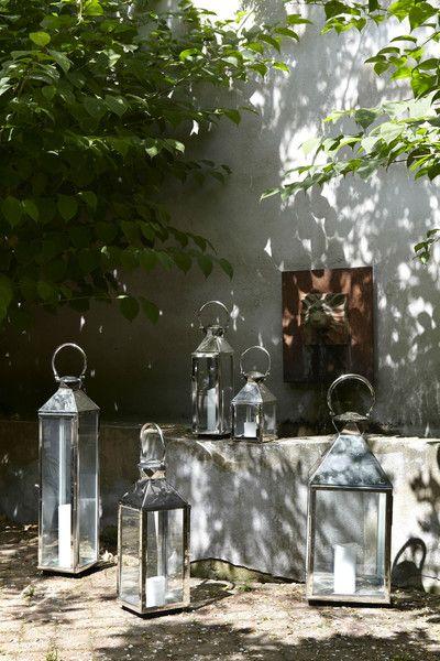 Faroles y velas en verano para el exterior #shopnordico