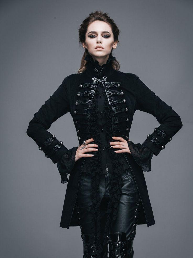 Gothic Damen Gehrock Aslaug