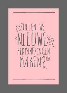 Zullen we nieuwe herinneringen maken? #Hallmark #HallmarkNL #vriendschap #herinneringen #avonturen #vrienden #friends