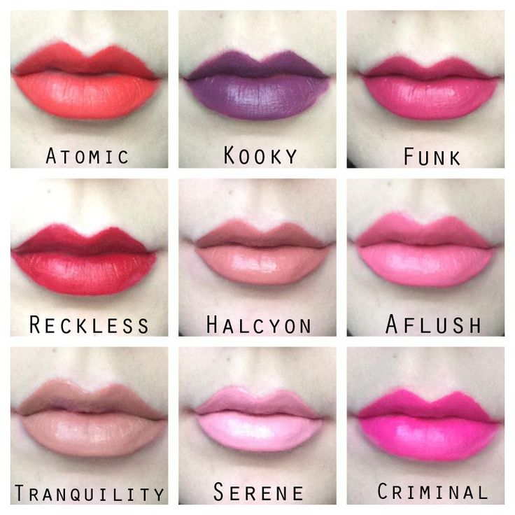 MUA Make Up Academy Luxe Velvet Lip Lacquers