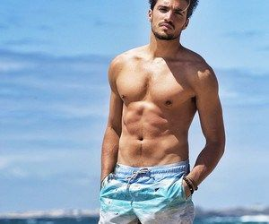 male model mariano di vaio italian muscles beach waves abs pecs gorgeous perfect favorite