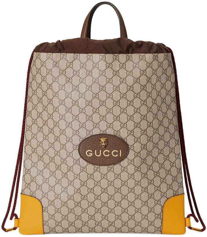 39f0365d109a  Gucci  GG  Supreme drawstring  backpack  AD  kimludcom  kimludcom   sscollective  kids  kid  kiddo  kidz  kidsofourworld  kidrauhl  kidstyle   kiddos ...