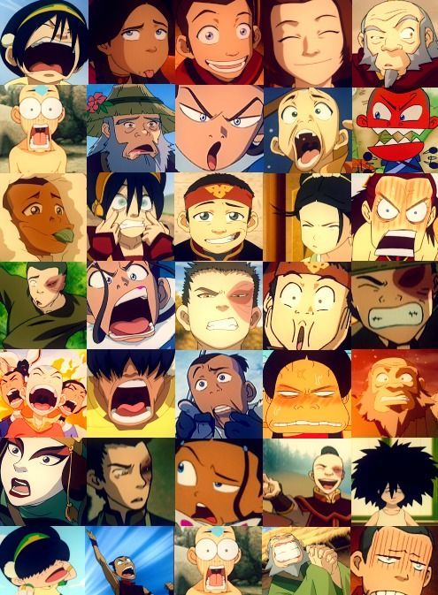 The wonderful faces of Avatar...