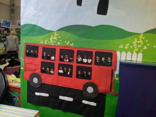Naughty Bus Craft Activities