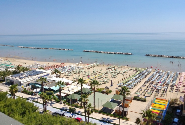 Daily View 06.15.2013  http://www.ristoraltahotel.com/grottammare/