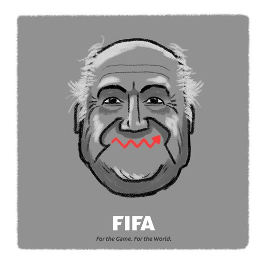 Sepp's fortunes seem to be on the up again...
