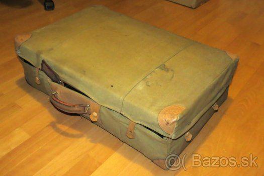 Retro- cestovny kufor značky KAZETO - 1
