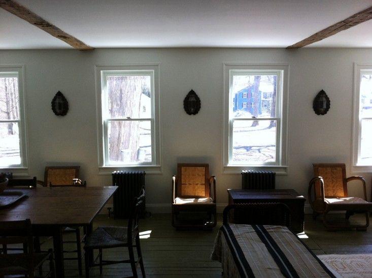 I like the window trim Jesse James The Smithy in Upstate New York, Remodelista